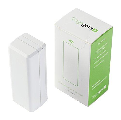 Flaschenöffner Garagentor gogogate2–Kabellose Fernbedienung mit Sensor kompatibel mit iPhone und Android Smartphones, weiß, GGG2-TWS-101, 3.00 voltsV
