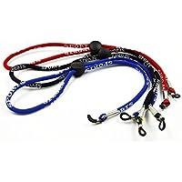 Preisvergleich für Nylon Schnur 12 Stück bunte Sicherheit einstellbare Eyewear geflochten Lesung Sonnenbrille Neck Strap Seil Lanyard...
