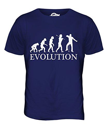 CandyMix Gesang Singen Evolution Des Menschen Herren T Shirt Navy Blau