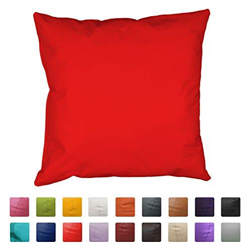 Cojin Polipiel (60x60) (Rojo)