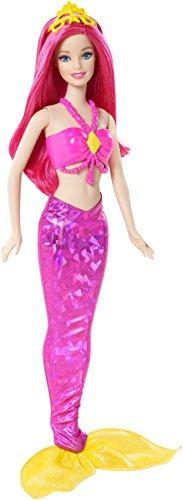 BARBIE-Modern-Fairytale-Mix-Match-Meerjungfrau-Haare-pink