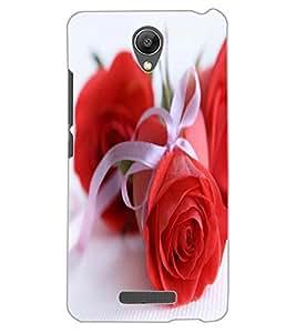 ColourCraft Beautiful Rose Design Back Case Cover for XIAOMI REDMI NOTE 2 PRIME