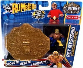 wwe-wrestling-rumblers-exclusive-rey-mysterio-with-world-heavyweight-championship-playcase-by-wwe