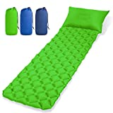 EVERWELL Sleeping Mat Ultralight Camping Air Mattress Inflatable Pad Waterproof Sleep Cushion Pad