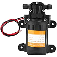 Mini bomba de agua de diafragma de plástico de alta calidad 12V 0.48MPA 3.5L / Min