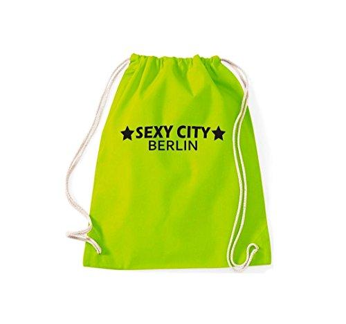 Stadtbeutel Sexy Lime Kultsack Dein Berlin Turnbeutel City Gymsack qHCvxBBZw