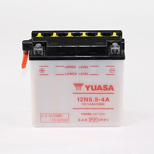 Batería 12V 5,5Ah 12N5.5–4A de plomo Acid Yuasa sin Acid Pack Kawasaki KH 250kh250b 400s3F Yamaha MT de 125RE11ABS WR 125R de071X de072YZF de R