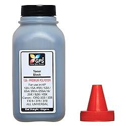 Gps 12A Premium Quality Toner Powder 1 Bottle 100gms.