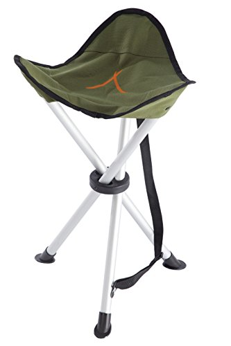 Grand Canyon Alu 3-Bein-Hocker - Aluminium, faltbar, olive, 308030