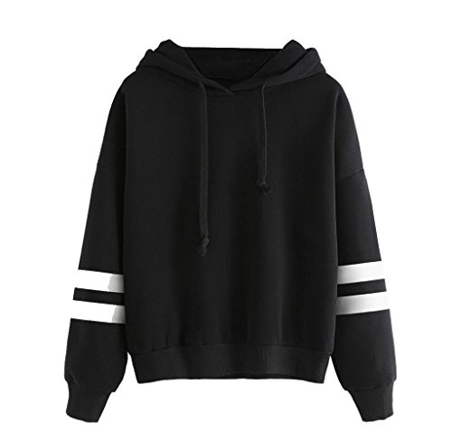 Women Fashion Swearshirt,Malloom Long Sleeve Hoodie Sweatshirt Jumper Hooded Pullover Tops Blouse