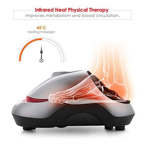 Zoom IMG-3 intey massaggiatore piedi shiatsu elettrico