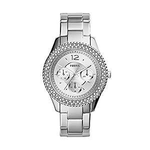 Fossil Reloj Mujer de Analogico con Correa en Chapado en Acero Inoxidable ES3588 de FOX84