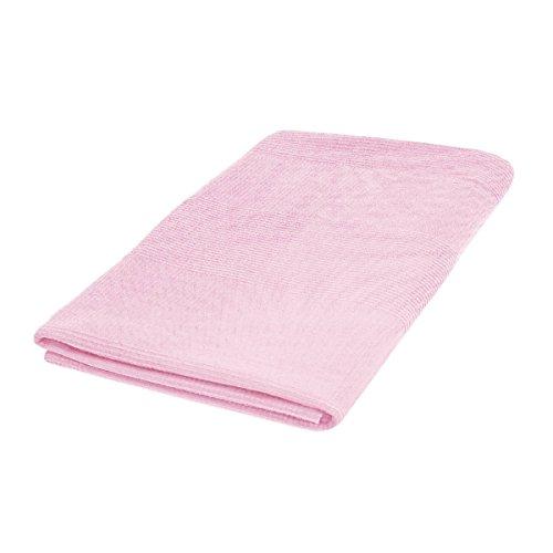cke Sofaüberwurf Bettüberwurf aus 100% Baumwolle I Kuscheldecke I Wohndecke I Größe 150x250cm in Rosa | Ökotex Zertifziert ()
