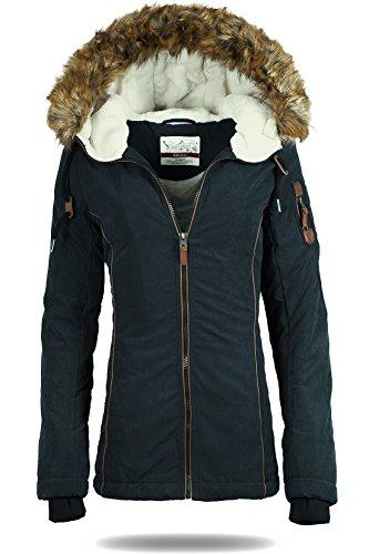 Damen Winter Jacken Modell 01 - Urban Surface 01 schwarz XL