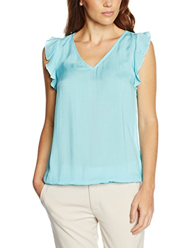 Q/S designed by 49.606.12.7147, T-Shirt de Sport Femme Grün (blue green 6050)