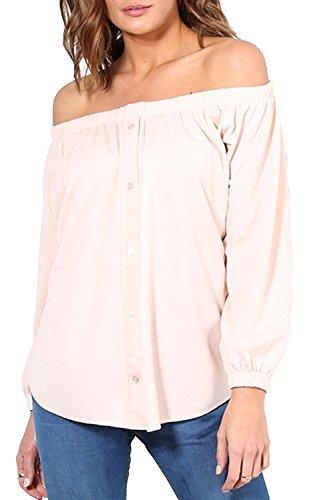 Be Jealous -  T-shirt - Maniche lunghe  - Donna Peach