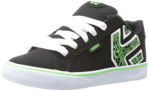 Solaria Publications Jungen Fader Vulc Skateboardschuhe Nero (Black Green Black)