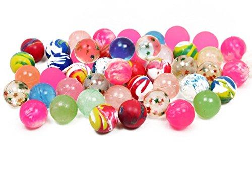 200 bunt gemischte Flummis 20 mm Springball