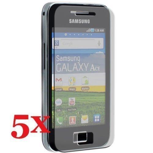 thematys Samsung Galaxy Ace S5830i S5839i 5 x Display-Pellicola Protettiva lucidatura Panni di Protezione