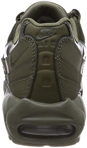 Nike Wmns Air Max 95, Scarpe da Ginnastica Donna Verde (Cargo Khaki/Cargo Khaki/Cargo)