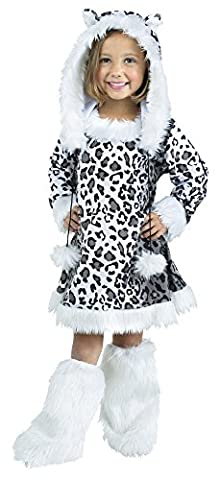 Snow Leopard Toddler Costume Large 3T-4T