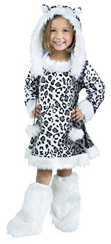 Snow Leopard Toddler Costume Large - Snow Leopard Kostüm Zubehör