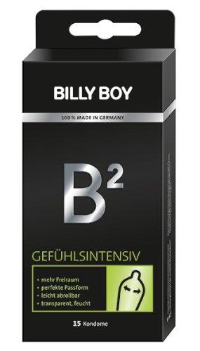 Billy Boy B² Gefühlsintensiv Kondome transparent 12er Pack