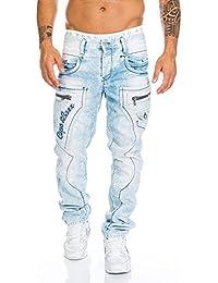 Cipo & Baxx Herren Jeans Nähte Jeanshose