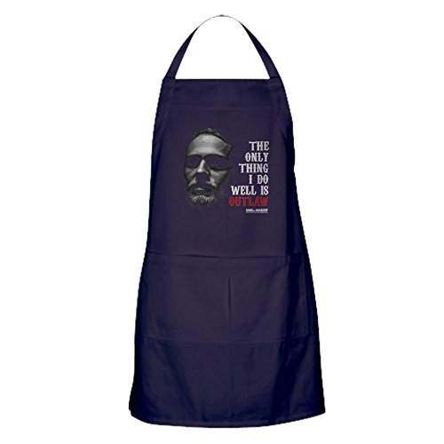 CafePress - SOA Outlaw - Küchenschürze mit Taschen, Grillschürze, Backschürze (Anarchy Of Sons Kleidung Jax)