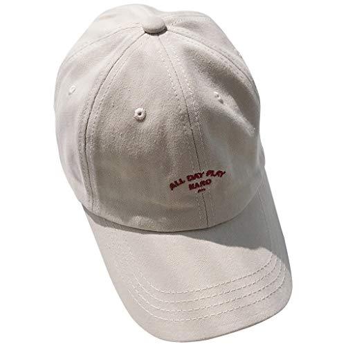 CRE87 Damen Printe Baseball Caps Mens Baseball Caps Unisex Peak Caps Summer -