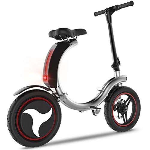 DOS Elektroroller Scooter Elektrofahrrad für Jugendliche Und Erwachsene bis zu 30km/h Electric Scooter