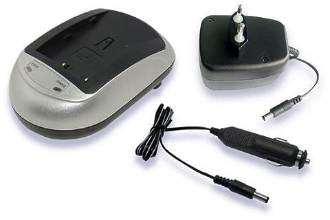 230V AC (Input), 12V-1A (Output) Ladegeräte für KONICA MINOLTA NP-400, BC-400