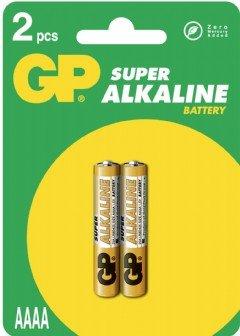 GP 25A - AAAA - Paquet de 2 piles