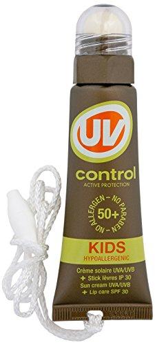 UV CONTROL Crème solaire pour Lèvres Tub et Stick Spécial Enfants SPF50+ 20 ml