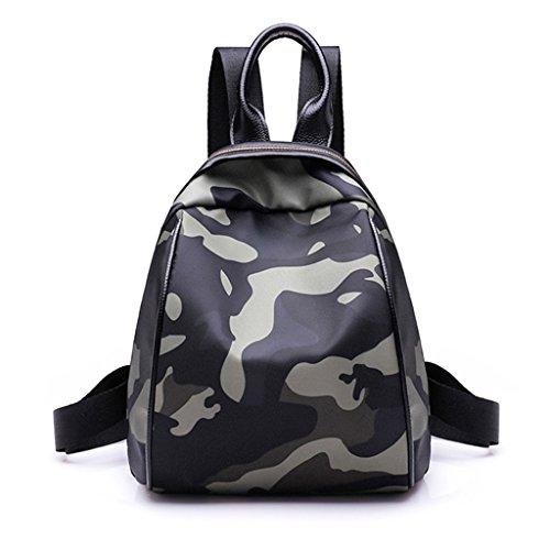 CLOTHES- Versione coreana Camouflage dell'asilo del bambino Sacchetto sveglio del sacchetto di spalla dello zaino del sacchetto del sacchetto ( Colore : B ) B