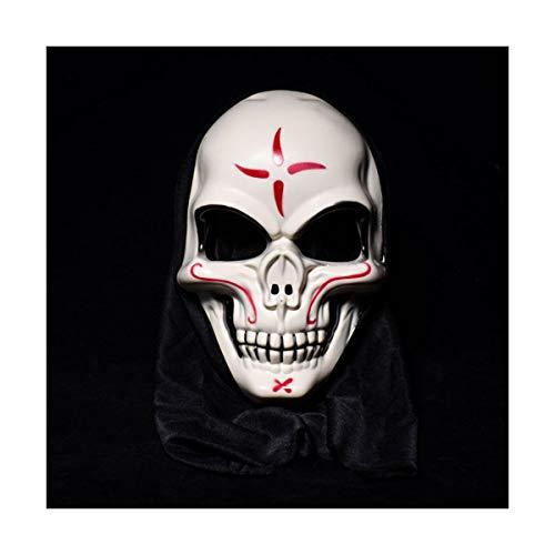 BUY-TO Halloween-Maske Kostüm Party Requisiten Scary Horrible Masquerade für Erwachsene