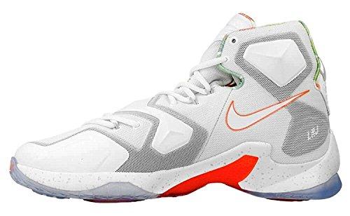 Weiß Brght XIII Basketballschuhe Orange Wht Talla Mng Plata Pltnm Gr Actn Herren Pr Nike Lebron Grau CwqxXfSx