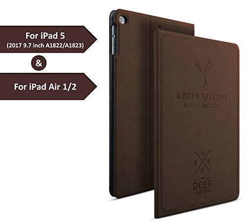 Zen Master Premium Magnetic Stand Flip Cover Case For Apple iPad 9.7...