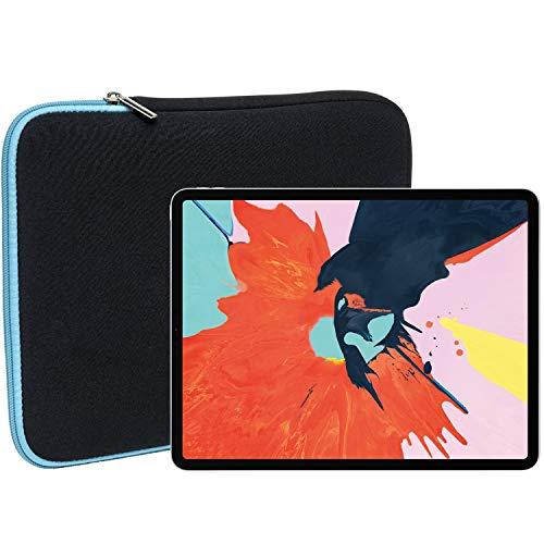 Slabo Tablet Tasche Schutzhülle für iPad Pro 11 (2018) Hülle Etui Case Phablet aus Neopren – TÜRKIS/SCHWARZ