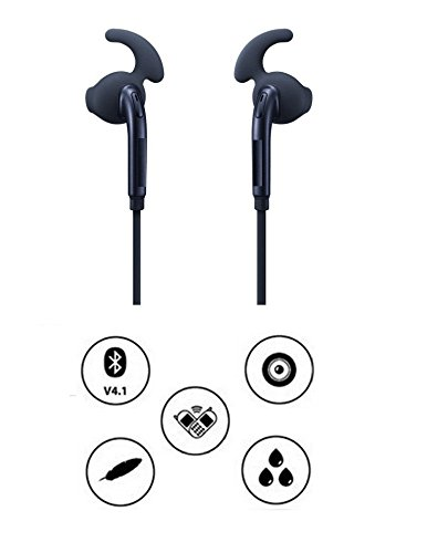 Mobilefit SM6 Wireless Sport Bluetooth Headset (BLACK) with Super Clear Sound Quality/Dust & Water Resistant/Smart Voice Report/v4.2 Bluetooth/Music & Call Control Compatible for Micromax GC222  available at amazon for Rs.899