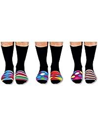 United Oddsocks The Sock Exchange Boîte de 6 chaussettes Motifs originaux Taille 39-46