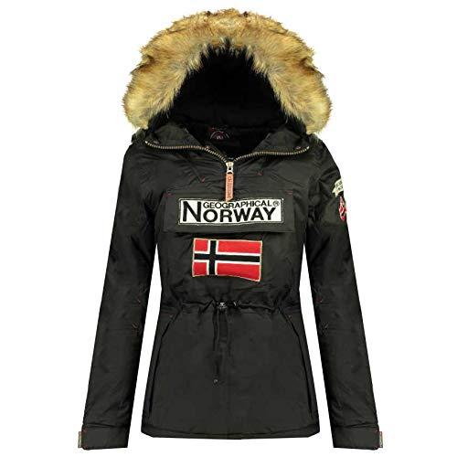 Geographical Norway, Veste DE Ski ET Montagne Femme Bridget Lady New 001 (Noir, 4)