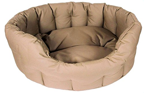P & L Superior Pet Beds Heavy Duty Oval Waterproof Softee Beds
