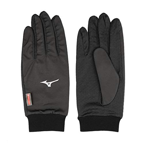 Mizuno Wind Guard Windproof Gants Course à Pied - S