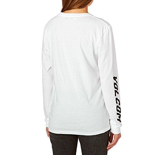 Volcom simply Stoned LS T-Shirt à manches longues, femme blanc
