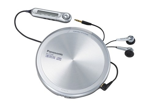 Panasonic SL-CT 790 EG-S tragbarer CD-Player Silber