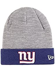 Bonnet New Era NY Giants Cuff Badge Gris
