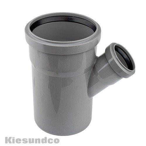 HT-Abzweig DN 100/50 45 Grad -Für heiße kalte & aggressive Abwässer geeignet