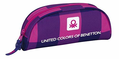 Safta 811752283 United Colors Of Benetton Estuches, 22 cm, Multicolor