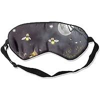 Cute Fire Flies Moonlight 99% Eyeshade Blinders Sleeping Eye Patch Eye Mask Blindfold For Travel Insomnia Meditation preisvergleich bei billige-tabletten.eu